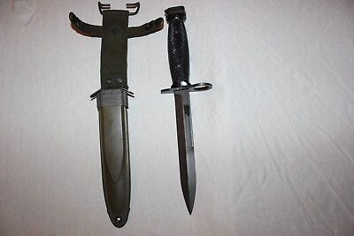 BOC M7 US Military Issue Fighting Knife USMC Army with M8A1 Scabbard Set AB02