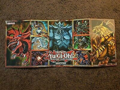 YUGIOH Legendary collection game mat hard gameboard Konami Shonen Jump Yu-Gi-Oh!