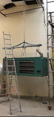 Industrial Commercial Gas SpaceHeater  Workshop Warehouse Powrmatic NV