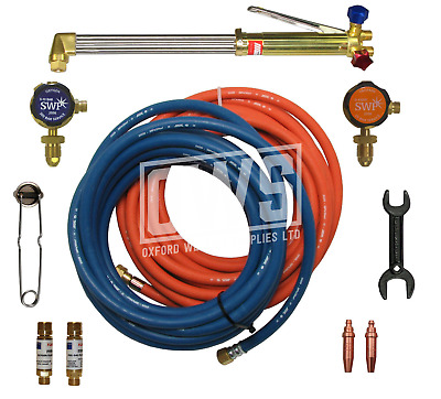 COMPLETE GAS WELDING & CUTTING KIT for Propane / Oxygen