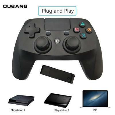 2.4G Wireless Controller Gamepad For PS4/PS4 Pro,/PS4 slim/Playstation 3/PC US