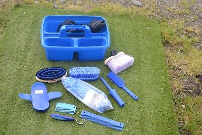 Blues Grooming Kit Tray And Kit-Haynet-Grooming Items - Tray Cover  New