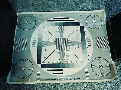 VTG 1950's Radio Electronics Television Manufacturers Association RETMA CHART