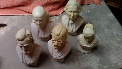 Lot of presidential Avon decanters
