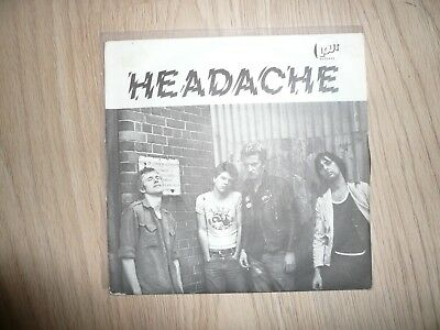 Headache - Can't stand still / no reason for your call 7'' single vinyl