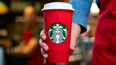 Starbucks Red Cup Reusable Holiday Cup New Limited Edition 2018 16oz Sold OUT