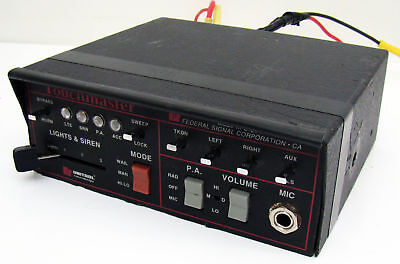 Federal Signal Unitrol Touchmaster Control Unit Tm4