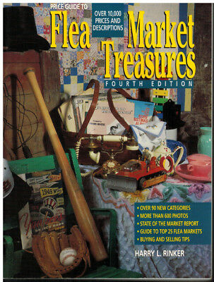 Price Guide to Flea Market Treasures, Harry L. Rinker 4th Edition