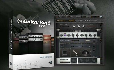 Guitar Rig 5 Pro Standalone And Plugin Vst Software - Windows Or Mac