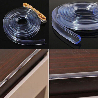 1M Baby Kids Table Safty Edge Guard Strip Bumper Protector Cushion Clear  Pip SU