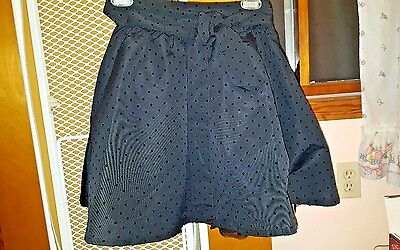 The Children's Place Young Girls Skirt w taffeta lining Size 6X-7 w/ Leggings 10