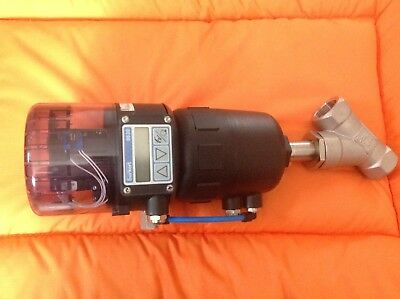 Burkert 2702 Valve Control With 8630 Top Control Actuation System