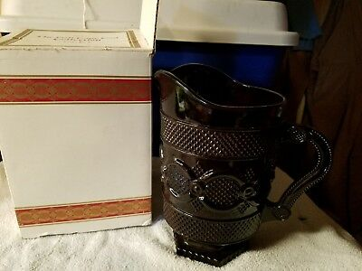 """VTG Avon 1876 Cape Cod Collection Ruby Red 8 1/2"""" Beverage Pitcher"""