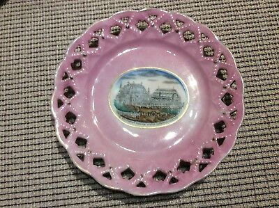 Southport Pavilion Winter Gardens & Aquarium Plate 1890s