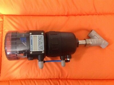 Burkert 2632 Valve Control With 8630 Top Control Actuation System