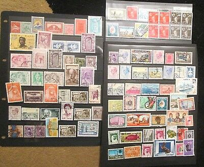 Middle East small lot of 99.x. Stamps,
