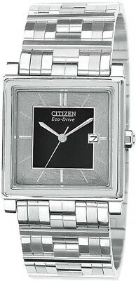 Citizen BW0160-52E Eco-Drive Mens Watch Stainless Steel Elektra Collection NEW