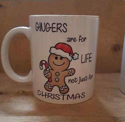 Gingers Are For Life Novelty Funny Office Present Mug Gift Cup 348