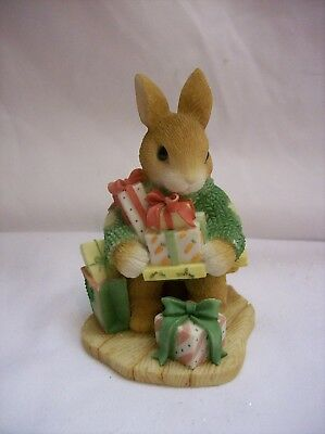 Enesco My Blushing Bunnies Figurine Bless Some Bunny