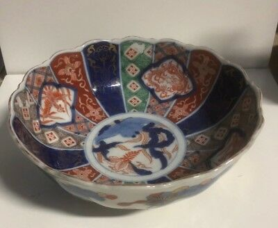 An Antique Japanese Imari Bowl