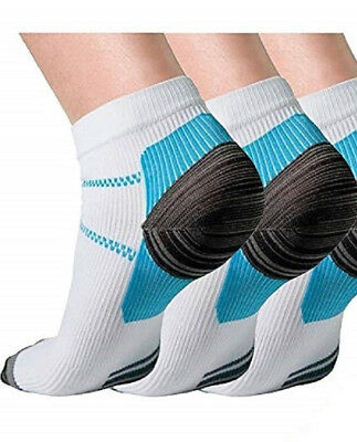 Men's Compression Socks Feet Ankle Foot Care Support Sports Plantar Fasciitis