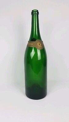 Large Vintage Empty 1874 Pennrich Champagne Bottle