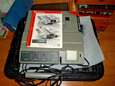 Relecta Hobby Line Diamator AF2000 Slide Projector +1000 Somerset Church slides