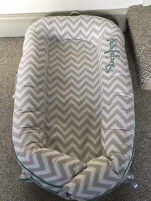 Sleepyhead Deluxe Pod Chevron/White (spare cover), instructions, 0-8 Months