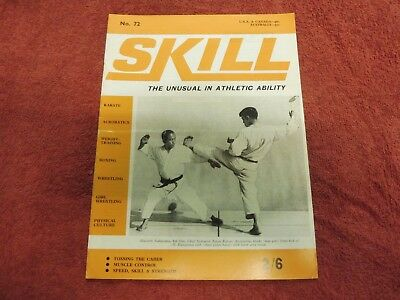 Skill. the unusual in athletic ability 1968 caber tossing,acrobatics wrestling.