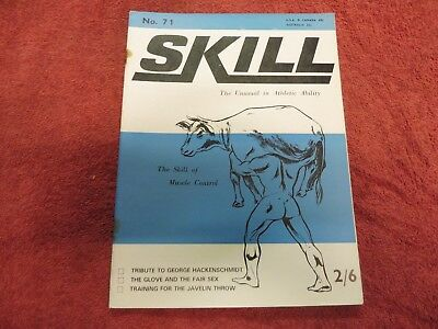 Skill. the unusual in athletic ability 1968 muscle control,acrobatics wrestling.