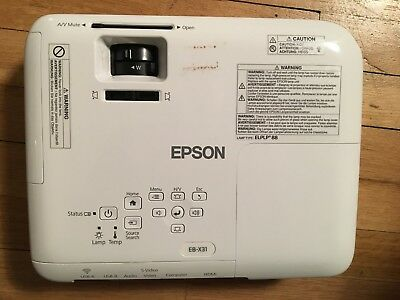 Epson LCD Projector H720B