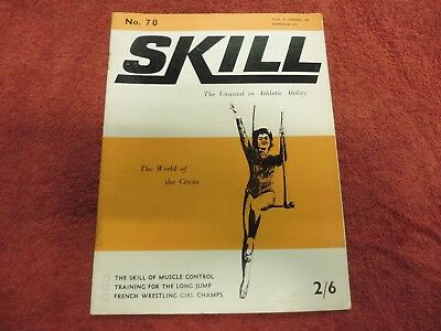 Skill. the unusual in athletic ability 1968 girl wrestling, circus acts etc.