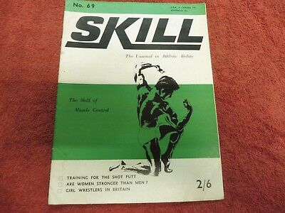 Skill. the unusual in athletic ability 1968 girl wrestling, shot putt, etc.