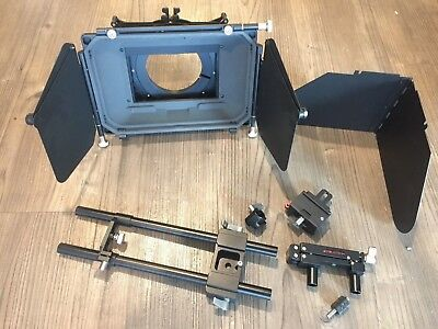 """Genustech Matte Box Kit with 4 x 4"""" Filters + more"""