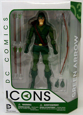 DC Icons 6 Inch Action Figure Series 1 - Green Arrow #03