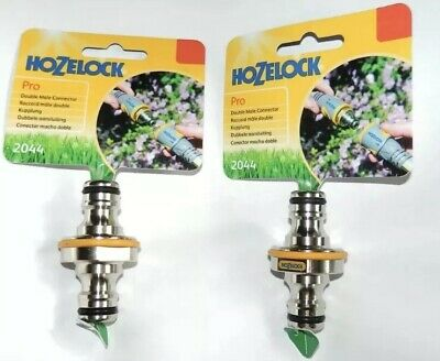 Hozelock  Pro Double Male Connector 2044