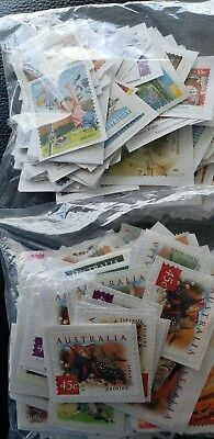 Unfranked  Stamps Mix 45 & 55 Cent $100 Face Value.