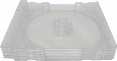 100 Replacement Inner Trays CLEAR Insert FOR Games CD Disc Standard Jewel Cases