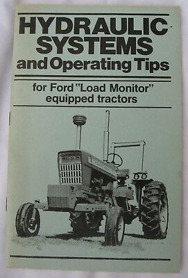 Ford Tractor Hydraulic Systems Information Book