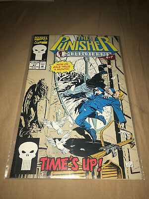 The Punisher #67 Aug 1992 Eurohit Part 4 Time's Up Marvel Comics Comic Book