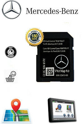 MERCEDES C-CLASS E GLC Navigation Card GARMIN Map Pilot A2139069903