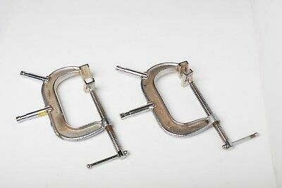 """Matthews C - Clamp with 2- 5/8"""" Baby Pins - 6"""""""