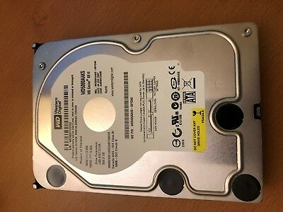 Western Digital WD5000AAKS 500GB 7200RPM SATA 3Gb/s 3.5in Hard Drive