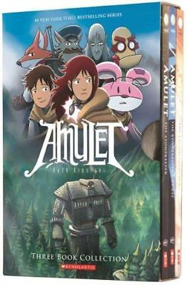 AMULET BOXSET: BOOKS 1-3 by UNKNOWN New  Book