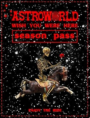 ASTROWORLD Season Pass x1 *EARLY ENTRY*