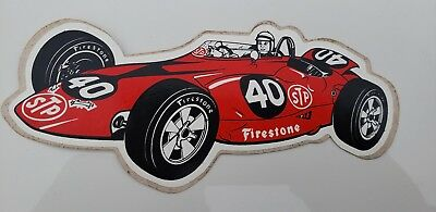 Vintage Lot Of 18 Stp Parnelli Jones Turbine Stickers Decals Nascar Nos