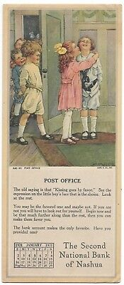 """Blotter - 192 Second National Bank of Nashua - Children Playing """"Post Office"""""""