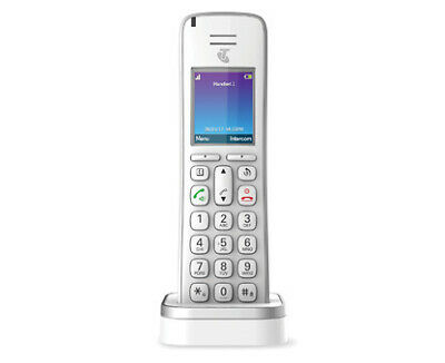 Telstra T-Voice 503 Long Range DECT Cordless Phone White As New