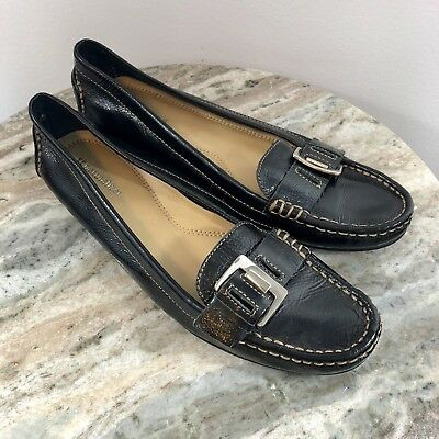 d900a8b1e8c7 Womens sz 10 M naturalizer heaven black patent leather flats shoes comfort  -C