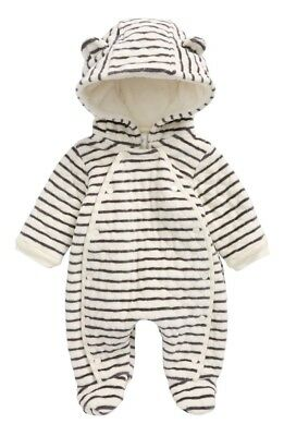 Nordstrom Baby Hooded Bunting Size 3 Months Warm Soft and so Cute